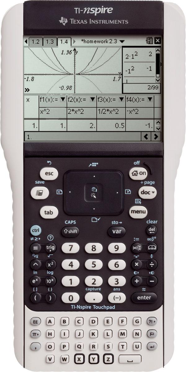 TI-Nspire Touchpad Texas Instruments Display mit Graustufenanzeige ohne CAS